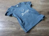 Premium Organic Toddler Shirt (Blue) photo