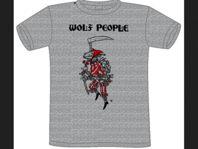 Wolf People Mari Lwyd Design - Grey main photo