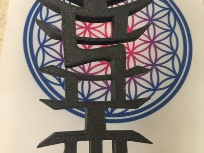 Large OSOM MUSIC 3D Printed logo - Black Edition main photo