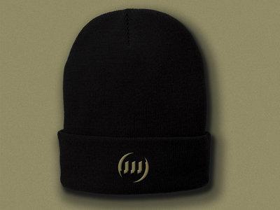 Ohm Resistance Black Beanie Hat main photo