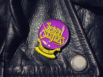 Crystal Ball Enamel Pin Badge main photo