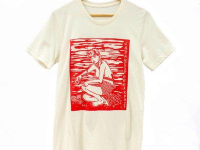 Diving Woman Shirt (Oatmeal) main photo