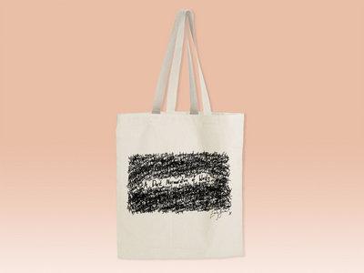 A Dark Murmuration of Words Tote Bag main photo
