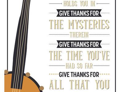 Give Thanks Greeting Card main photo