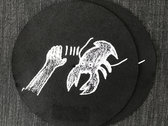 Lobster Theremin Glow In The Dark Slipmat (Black - Pair) photo