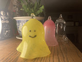 Pattern Play Glass Ghost Ornaments photo