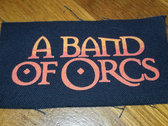 """A Band of Orcs 5""""x4"""" Canvas Pocket Patch photo"""