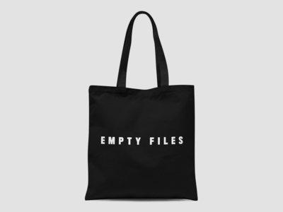 Empty Files - Black Tote Bag main photo