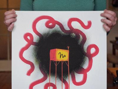 "Art Print ""No"" main photo"