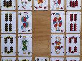 Gewürztraminer Kartenspiel / Doppeldeutsches Bild / 36 Blatt photo