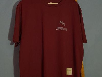 Kronkorkenmuschel T-Shirt - Burgundy - XL main photo