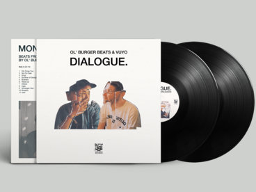 "Ltd. 2x vinyl LP ""Dialogue."" (incl. the instrumental album ""Monologue."") main photo"