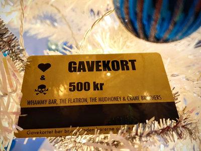 Giftcard 500 kr main photo