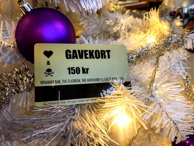 Giftcard 150 kr main photo