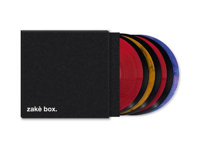 zakè box. Limited Edition 7xLP Boxset main photo