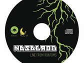 "Nasalrod ""Live At Rontoms"" CD / DVD photo"