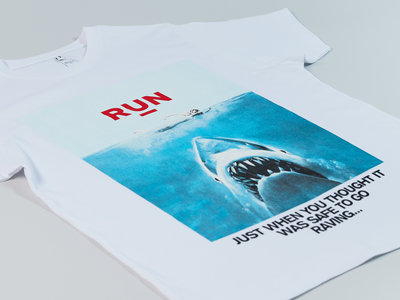 """A/W 20 """"Just when you thought it was safe to go raving..."""" T-shirt main photo"""