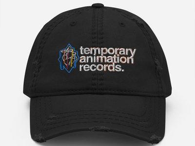 Temporary Animation Records - Bleeding Hearts Distressed Dad Hat main photo