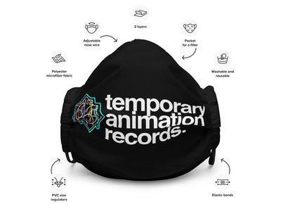Temporary Animation Records - Bleeding Hearts Premium face mask main photo