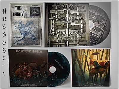 3-Pack CD Bundle - 3 Limited Edition CD's in Card Sleeve & Collectible Card main photo