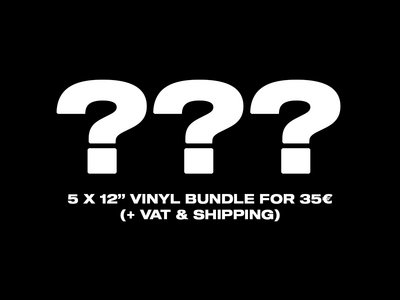 "5 x 12"" Vinyl Mystery Bundle Deal! main photo"