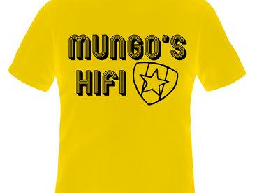 Mungo's Champion Sound yellow/black tshirts main photo