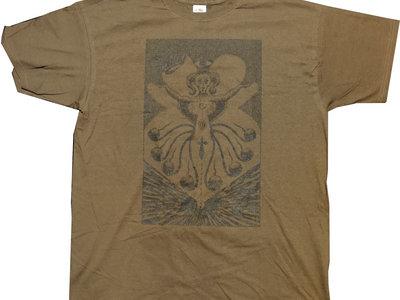 T-Shirt, Brown main photo
