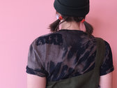 soft // Bleach dyed sustainable t-shirt photo