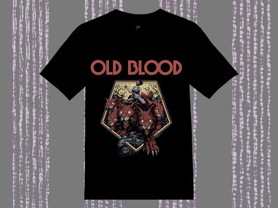 "OLD BLOOD - ""Pentahead"" Shirt main photo"