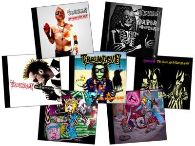 Full Discography Bundle – 7 CD main photo