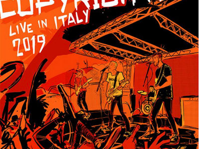 """Lp Copyrights """"Live in Italy 2019"""" main photo"""