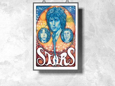 """STARS (Syd Barrett / Twink / Jack Monck) 12"""" x 18"""" Poster main photo"""