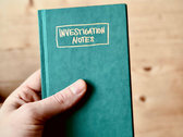 Investigation Notes photo
