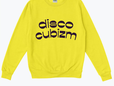 I:CUBE : DISCO CUBIZM : Special 25 years limited edition silk screen sweat shirt - including the track Disco Cubizm (Daft Punk Remix) for free  * last chance to get one - last batch to be made * main photo