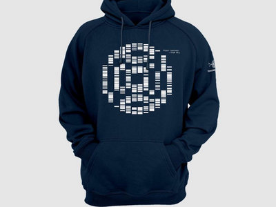 Plaid - Stem Sell - Hoodie In NAVY  (AVAILABLE TO ORDER FOR 2 WEEKS) main photo