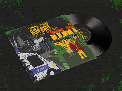 "Rudebwoy Corporation by Dub All Sense ft. Mr. Williams, MrDill Lion Warriah & Longfingah 12"" Vinyl main photo"
