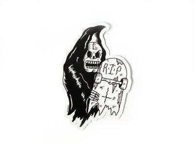 Ride With Death Sticker main photo