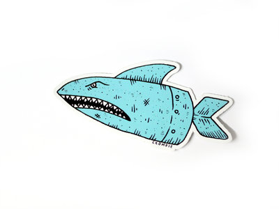 Sharkbomb Sticker main photo