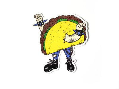 Taco Punk Sticker main photo