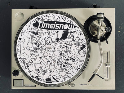 Time Is Now Slipmat (Pair) main photo