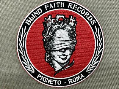 Blind Faith Records Logo Patch main photo