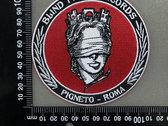 Blind Faith Records Logo Patch photo