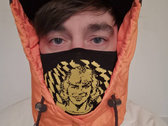 Roy of The Ravers cotton knit face mask (RED/YELLOW) photo