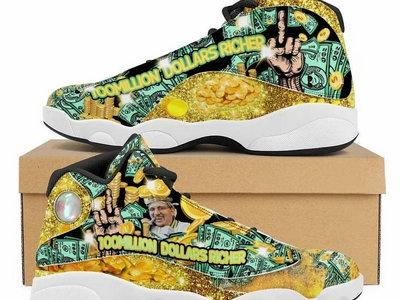 100 Million $ Richer Retro Sneakers main photo