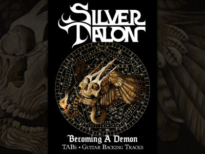 Becoming A Demon TAB + Guitar Backing Track Pack main photo