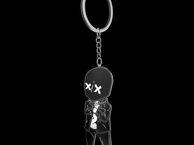 TOKYO ROSE Chibi Keychain (Glow in the Dark) main photo