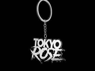 TOKYO ROSE Logo Keychain (Glow in the Dark) main photo