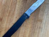 Apollo Noir WEAPONS DOUK DOUK Knife photo