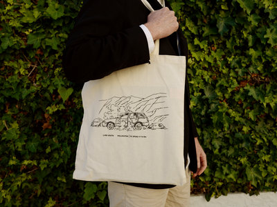 Long-handle tote with 'South Coast' design main photo