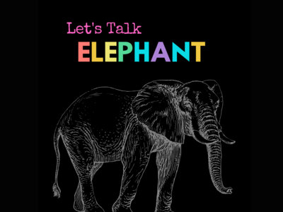 Let's Talk Elephant Button main photo